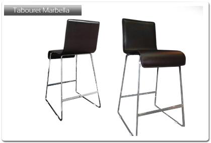 tabouret de bar mod le marbella plan de travail. Black Bedroom Furniture Sets. Home Design Ideas