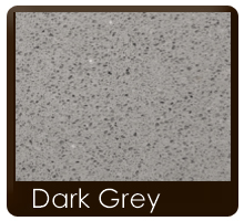 Plans de travail pierre quartz Dark Grey
